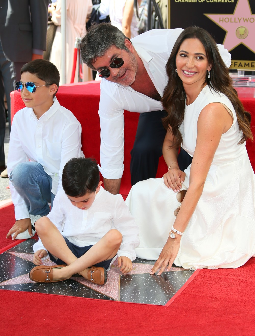 Simon Cowell Gets A Star On Hollywood Walk Of Fame