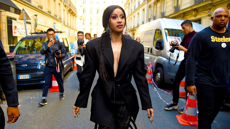 Cardi B Lived Her Most Fashionable Life At Paris Fashion Week