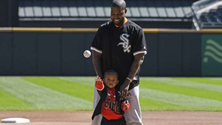 Father And Son Goals: Kanye West And Saint West Bond In Chicago