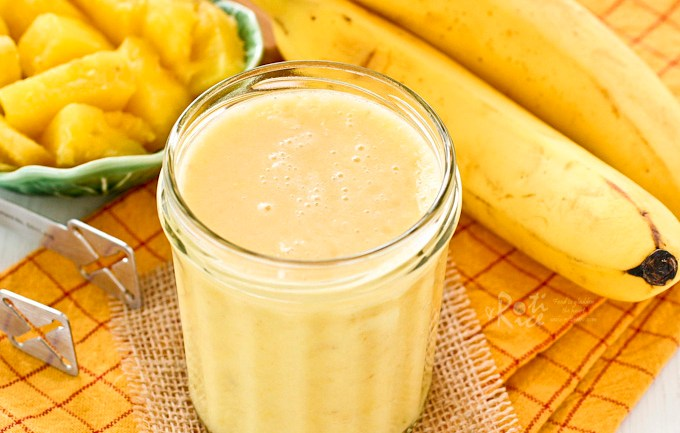 How To Make Banana And Pineapple Smoothie