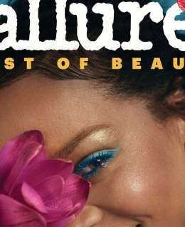 Rihanna Covers Allure's 2018 Best Of Beauty Issue
