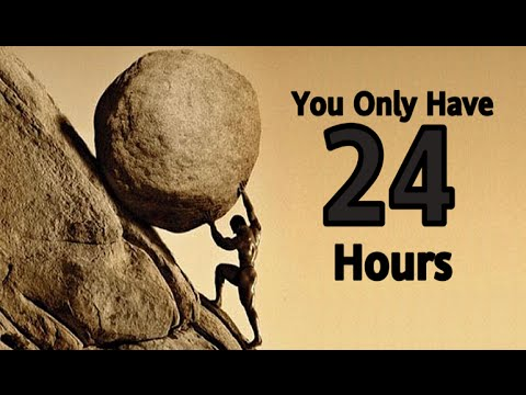 Monday Motivation: Use Your 24 Hours Wisely