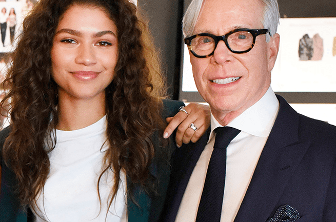 Zendaya Becomes The Face Of Tommy Hilfiger