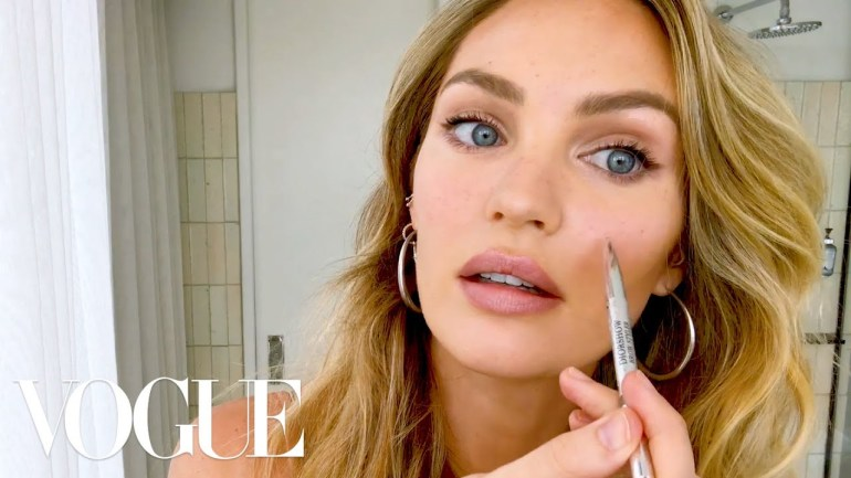 Watch Candice Swanepoel's 10-Minute Guide To Fake Natural Makeup And Faux Freckles