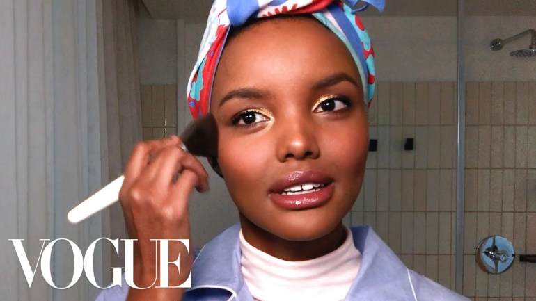 Kamdora Beauty: Halima Aden Shares Her Beauty Secrets For Glowing Skin And Golden Eyes