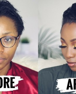 How To Style Short Relaxed Hair