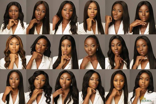 Who Has Got What It takes To Be Miss Nigeria 2018? See The Official Pictures Of The 18 Contestants