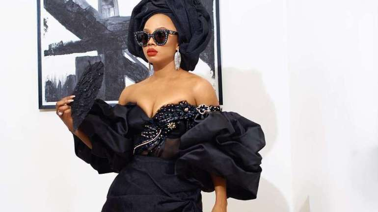 Chief Daddy: Toke Makinwa, Ini Dima Okojie, Sharoon Ooja And Others At The Premiere