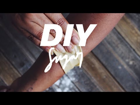 DIY Tutorial: How To Sugar Wax For Beginners