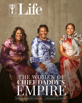 Joke Silva, Patience Ozokwor And Shaffy Bello Stun On The Cover Of Guardian Life Magazine