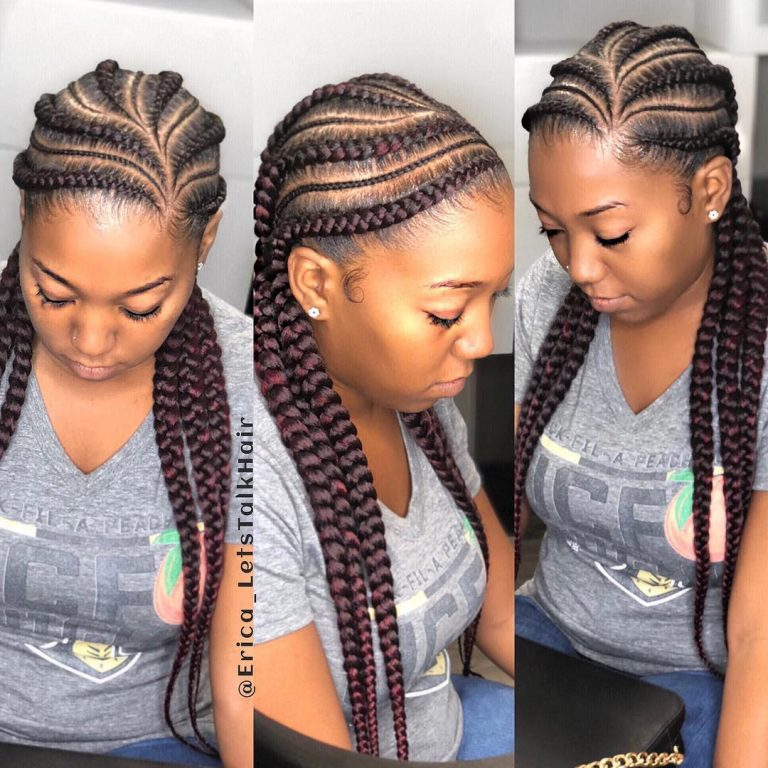 Ghana Weaving Hairstyles: These Styles Would Make You Run To Your Hair Stylist! | Kamdora