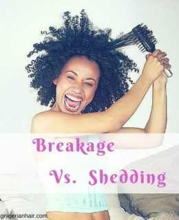 Is Your Hair Breaking Or Shedding