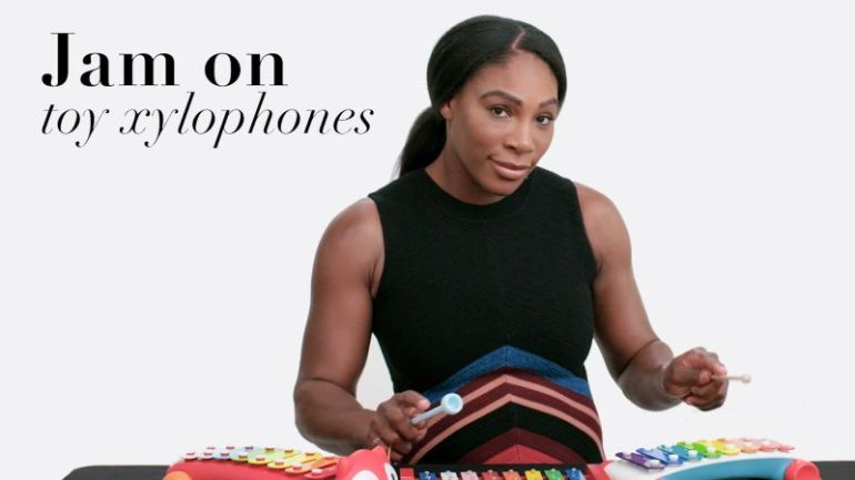 Watch Serena Williams Try 9 Things She Has Never Done Before
