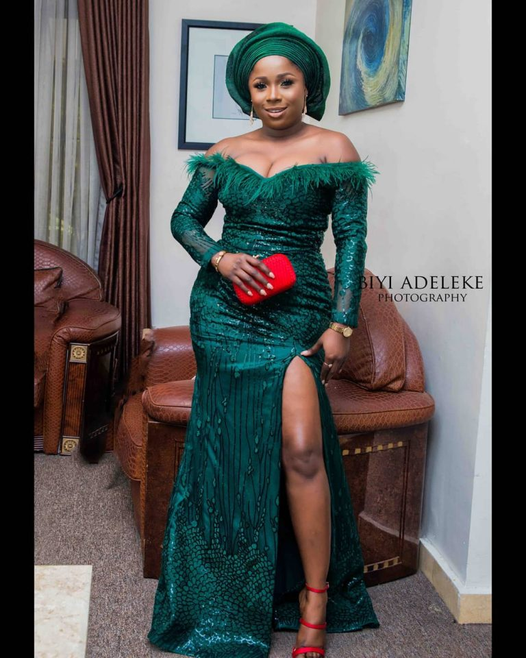Fashion Inspired Guest Room: Aso Ebi Styles #146: Steeping Into Your Owambe In Style