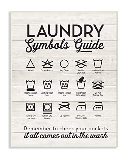 Laundry Symbols: How To Read The Symbols On Your Tags