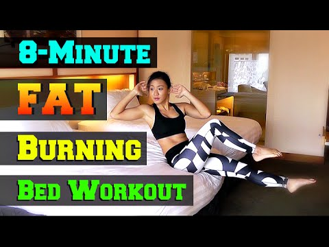 Kamdora Fitness: 8 Minutes Fat Burning Workout You Can Do Without leaving Your Bed