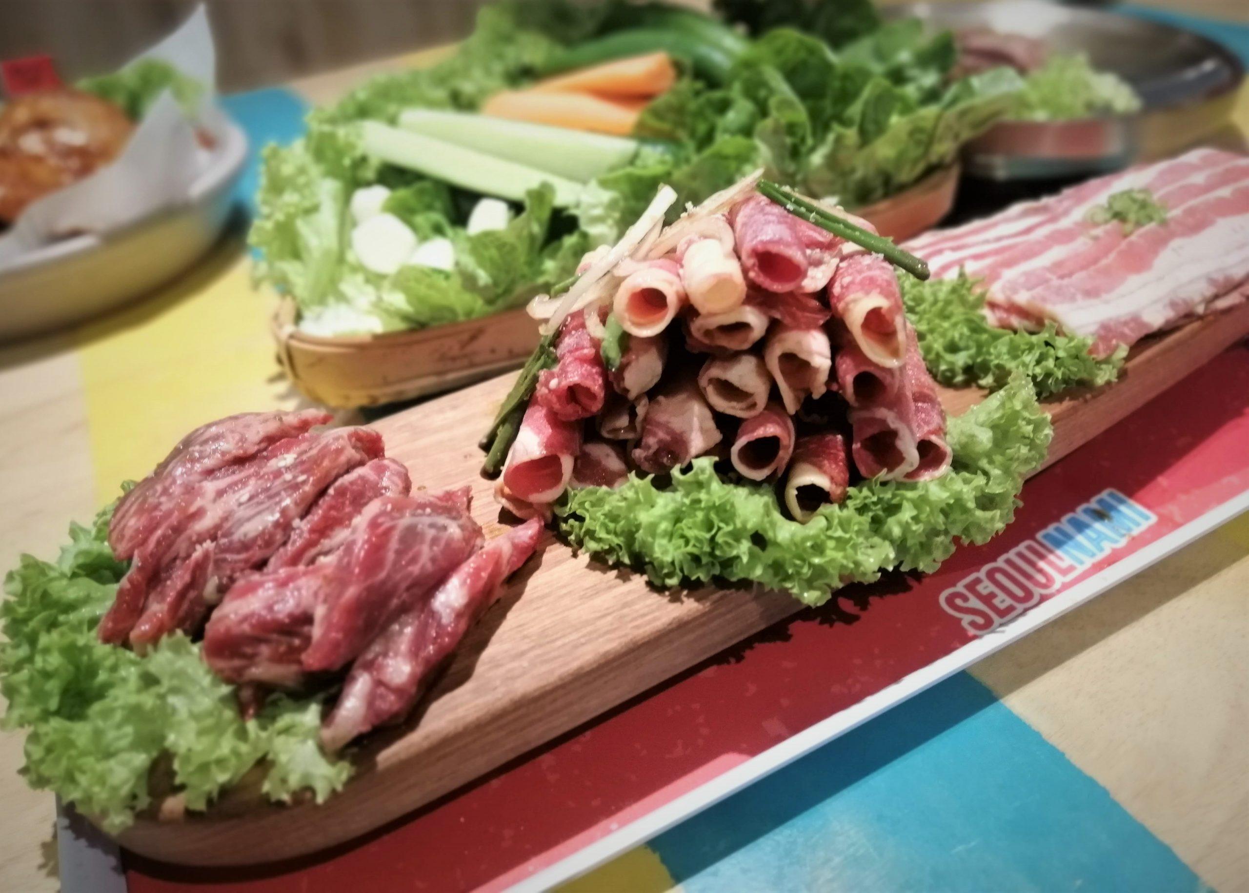 Premium meats at Seoulnami