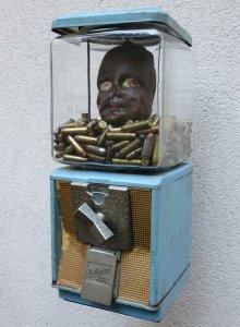 Enfant soldat 1 oeuvre artiste contemporain Kamel Yahiaoui