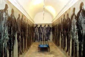La chambre de l'émigré oeuvre artiste contemporain Kamel Yahiaoui