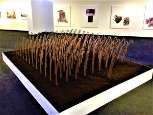 L'armée des faux 3 oeuvre artiste contemporain Kamel Yahiaoui