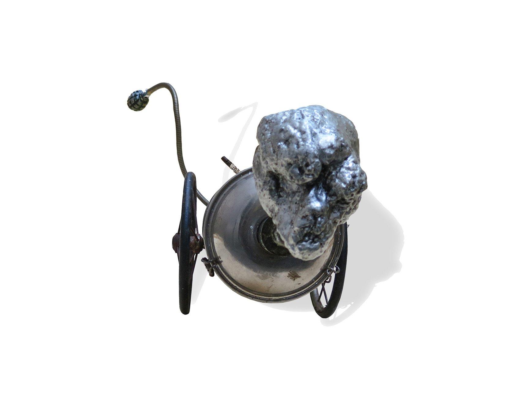 Physionomie du dictateur 1 oeuvre artiste contemporain Kamel Yahiaoui