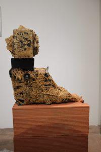 Paroles séquestrées face droite oeuvre artiste contemporain Kamel Yahiaoui
