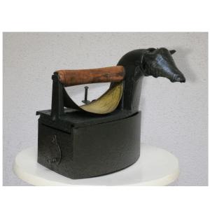 La vache des orphelins oeuvre artiste contemporain Kamel Yahiaoui