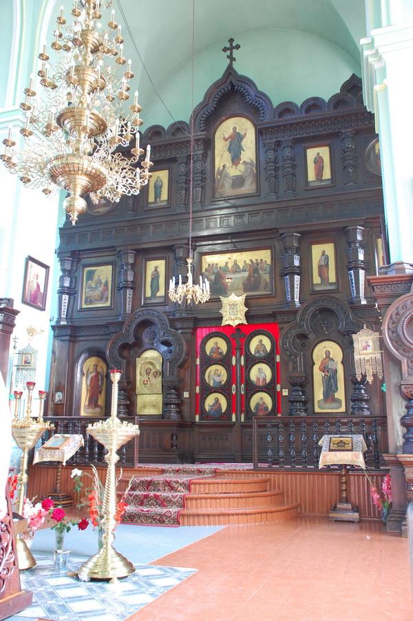 Современный вид иконостаса в Симеоновской церкви, 2008 год