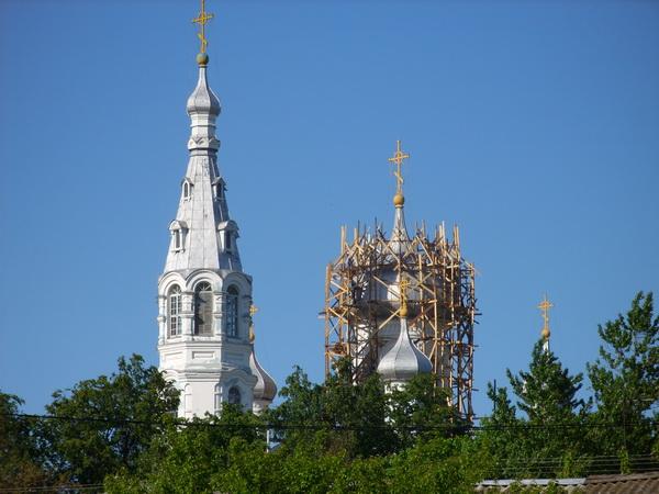Ремонт куполов, 2012 год