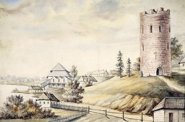 Акварель Наполеона Орды, 1876 год