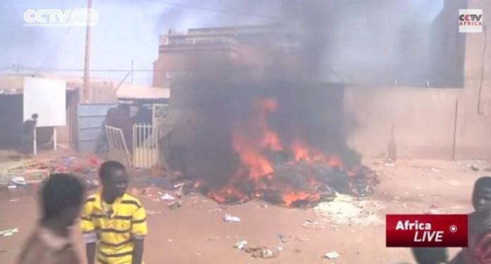 NiameyNigerprosvjediYoutubeCCTV