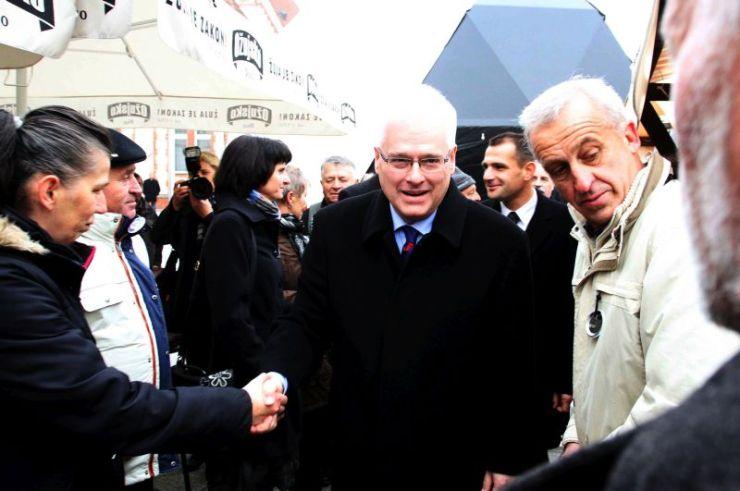 Predsjednik Josipoviæ posjetio Èakovec