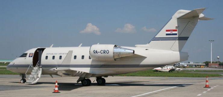 vladin zrakoplov