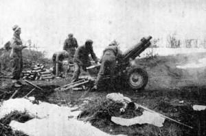 Brdska haubica 75 mm u boju za Mostar