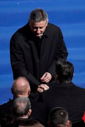 Zagreb, 15.02.2015 - VIP uzvanici na svecanoj inauguraciji Kolinde Grabar Kitarovic