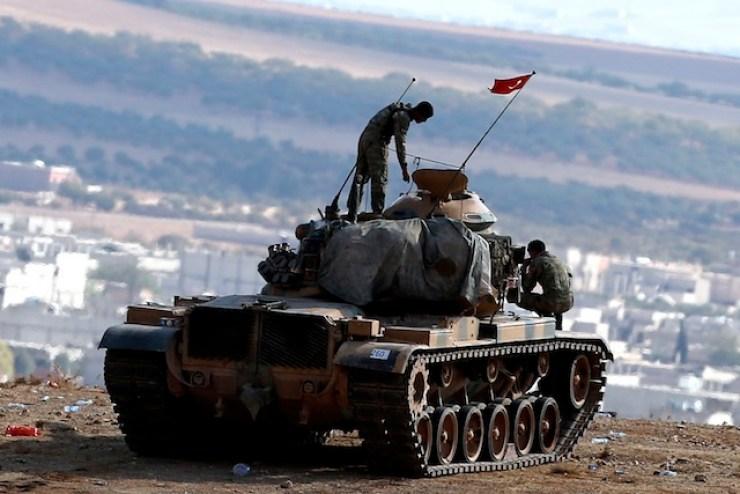 Kurdish-Islamic State conflict Kobane