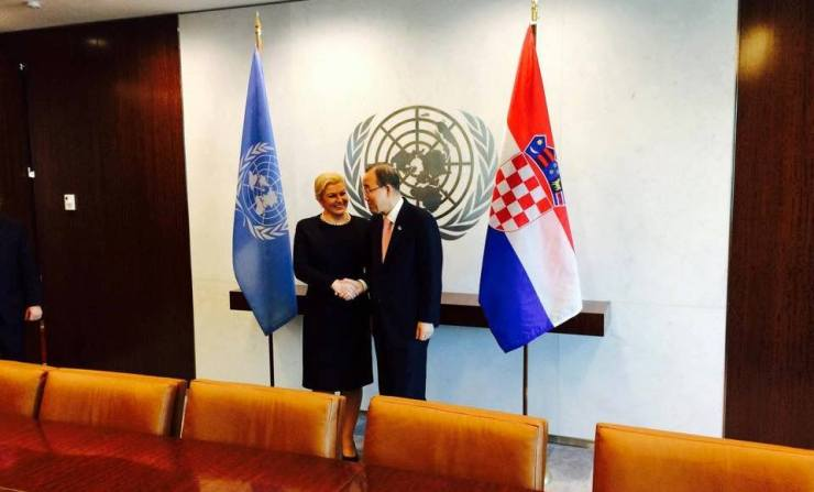 kolinda UN Ban ki moon