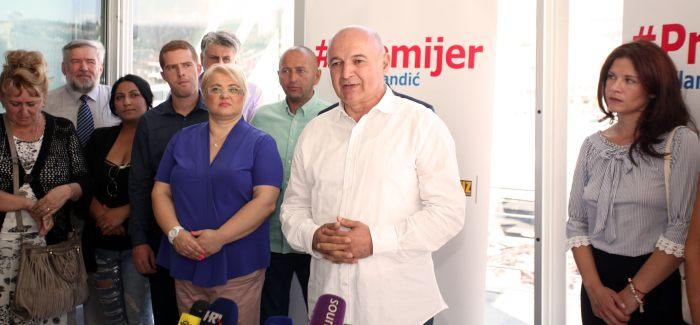 S predstavljanja kandidata u Rijeci. Foto: Totalinfo