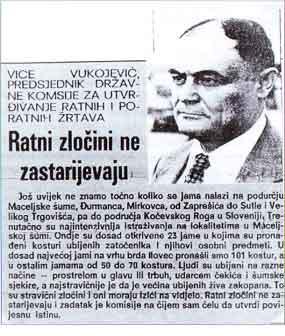 Vice Vukojević, predsjednik Državne komisije za utrđivarnje ratnih i poratnih žrtava