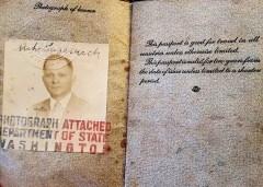 Miho Lazarević -putovnica