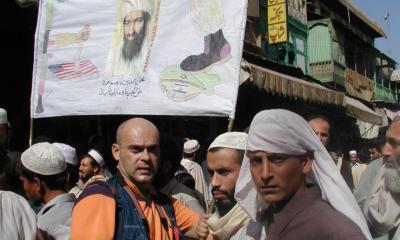 pakistan, pešavar, 2001, demonstracije