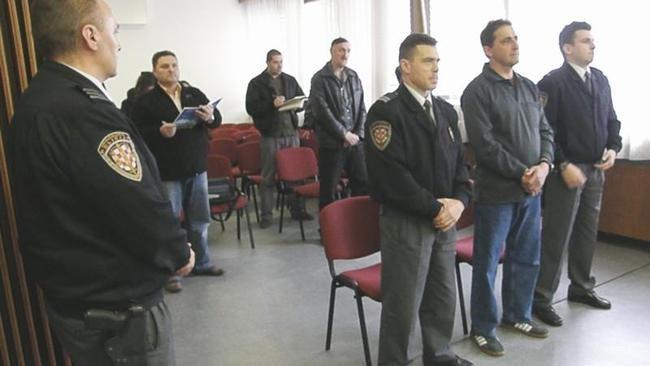 Zločinac Pejnović na sudu