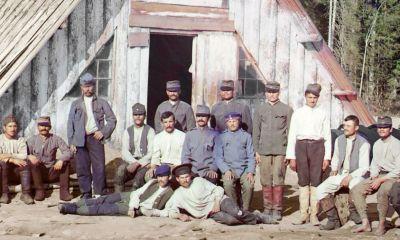 Austrougarski zatvorenici (mahom Hrvati) u Kareliji
