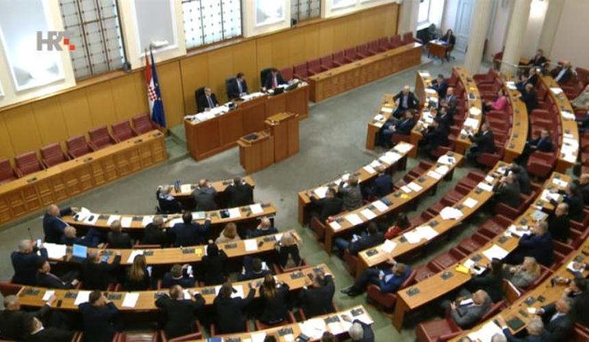 Sabor raspravio sporazum Hrvatske i Mađarske o suradnji u području vojnog zrakoplovstva