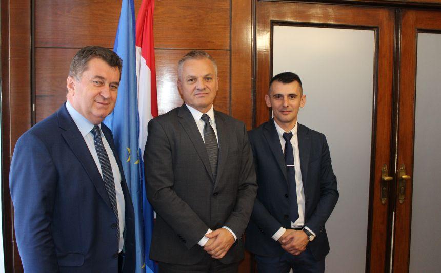 Državni tajnik Milas primio izaslanstvo općine Pelagićevo