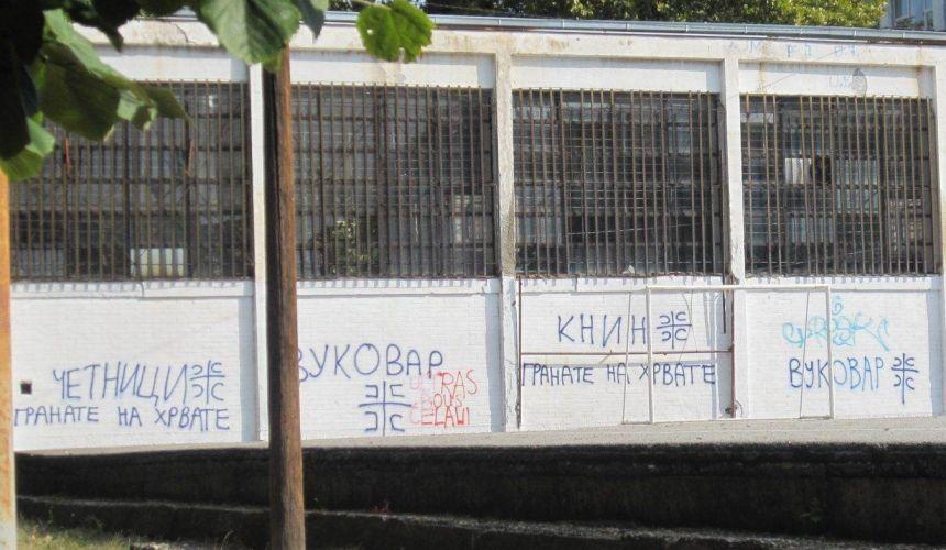 'Granate na Hrvate' – grafiti su najmanji problem Hrvata koji žive u granicama Srbije