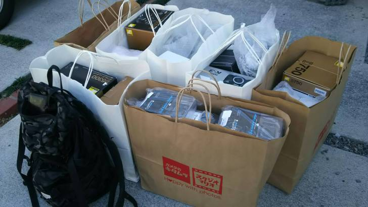 11942 カメラのキタムラミナピタセールで爆買い、大量購入した結果…