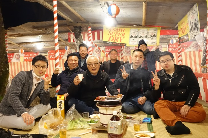 DSC05163 大阪の異業種交流会にてビジネスで大成功した経営者の花見大会