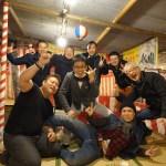 大阪の異業種交流会にてビジネスで大成功した経営者の花見大会