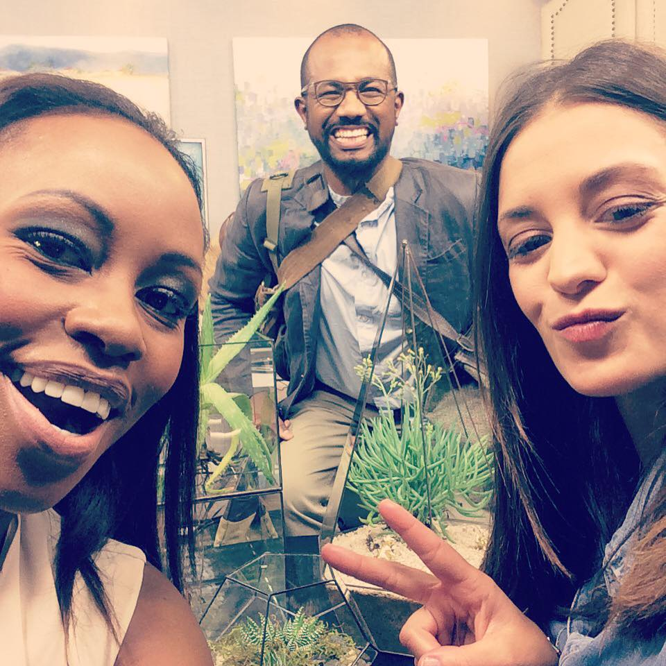 Mash and Lucy & Muffet with Elana Afrika on Expresso Show SABC 3 for KAMERS Summer 2015 - www.kamersvol.com
